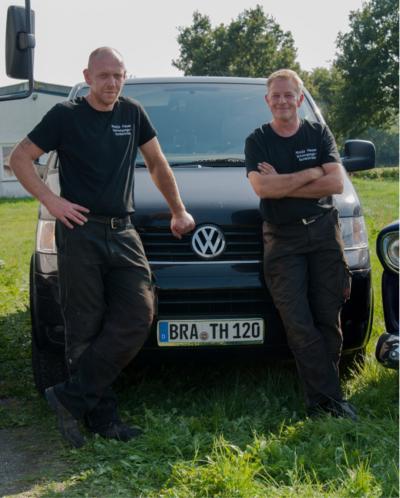 Ewald Petersen und Torsten Heuer